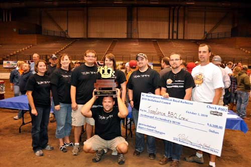 American Royal BBQ Contest Winners Tippy Canoe BBQ Crew from Iowa