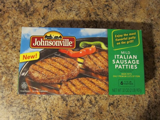 how to cook italian sausage patties on the stove