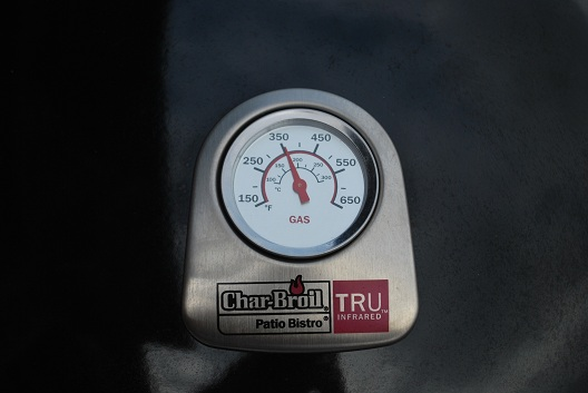 Char-Broil Patio Bistro Infrared Gas Grill Temp