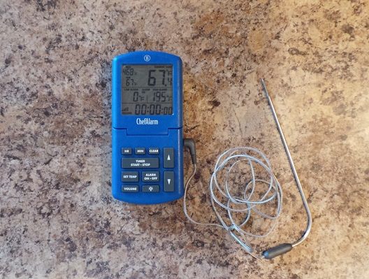 ThermoWorks ChefAlarm Cooking Thermometer 7a